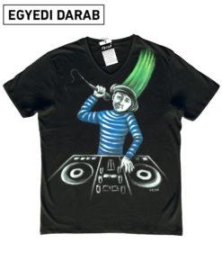 DJ Fűhajú póló
