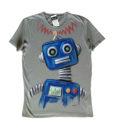 Nagy robot kék férfi póló